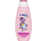 Lilien Girls shampoo and bath foam 2 in 1 for girls 400 ml