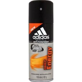 Adidas Cool & Dry 48h Deep Energy antiperspirant deodorant spray for men 150 ml
