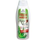 Bione Cosmetics Aloe Vera s lískooříškovou bílkovinou tělové mléko 500 ml