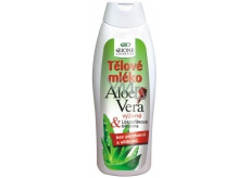 bcaec2262f48 ... Bione Cosmetics Aloe Vera s lískooříškovou bílkovinou tělové mléko 500  ml