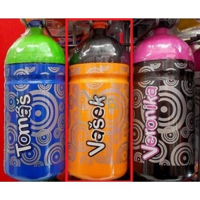 Nekupto Bottle for healthy drinking called Vašek 0,5 l 1 piece