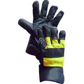 Aero Orinoco Parrot Work gloves 1024 size 11 black-yellow