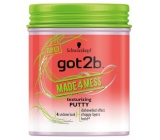 Got2b Made4Mess shaping putty for messy hairstyles 100 ml