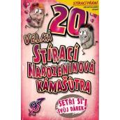 Nekupto Wiper birthday card Kámašútra 21.5 x 13.5 cm 20 G 20 3336