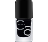 Catrice ICONails Gel Lacque nail polish 20 Black to the Routes 10.5 ml