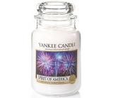 Yankee Candle Spirit Of Amerca - Duch Ameriky vonná svíčka Classic velká sklo 623 g