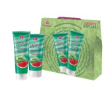 Dermacol Aroma Ritual Watermelon Shower Gel 250ml + Body Milk 200ml, cosmetic set