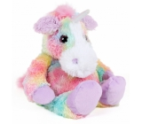 Albi Warm Plush Unicorn Rainbow 25 cm × 20 cm 750 g