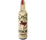 Kitl Syrob Bio Sour cherry with pulp syrup for homemade lemonade, contains 100% fruit content 500 ml
