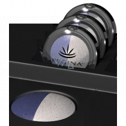 Regina Duo mineral eyeshadow 04 dark blue / mother of pearl 3.5 g