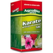 AgroBio Karate with Zeon technology 5CS preparation against absorbent and voracious insects 6 ml