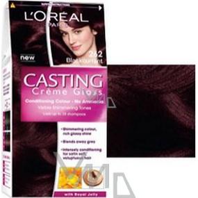 Loreal Paris Casting Creme Gloss hair color 262 black currant