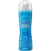 Durex Play Feel lubricating gel with pump 50 ml