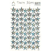Arch Holographic decorative stickers silver stars 1 arch