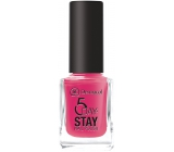 Dermacol 5 Day Stay Long-lasting nail polish 16 Miami Style 11 ml