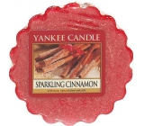 Yankee Candle Sparkling Cinnamon - Glittering Cinnamon Scented Wax for Aroma Lamp 22 g