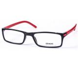 Berkeley +3.5 prescription reading glasses black red side 1 piece MC2 ER4045