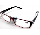 Glasses diop.plast. + 2 black black side MC2062