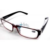 Glasses diop.plast. + 2 black black side MC2062