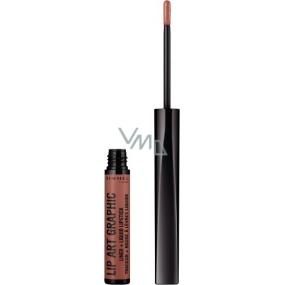 Rimmel London Lip Art Graphics Contour Pencil + Lipstick 720