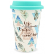 Nekupto BJ Mug To Go NHT 004 Feather