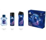 Adidas UEFA Champions League Victory Edition EdT 100 ml men's eau de toilette + 150 ml deodorant spray + 250 ml shower gel