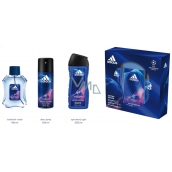 Adidas UEFA Champions League Victory Edition EdT 100 ml men's eau de toilette + 150 ml deodorant spray + 250 ml shower gel