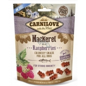 Carnilove Dog Mackerel with raspberries delicious crispy treat for all dogs for strong immunity 200 g