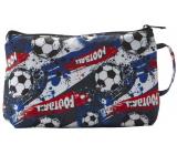 Diva & Nice Cosmetic nylon handbag Football 22 x 15 x 7 cm 90281