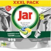Jar Platinum All in One Lemon dishwasher capsules 125 pieces