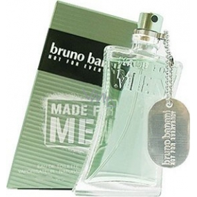 Bruno Banani Made eau de toilette for men 75 ml