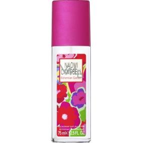 Naomi Campbell Bohemian Garden parfémovaný deodorant sklo pro ženy 75 ml