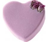 Bomb Cosmetics Růžové srdce Šumivý balistik do koupele 100 g