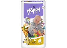Bella Happy 4+ Maxi Plus 9-20 kg nappy panties 44 pieces