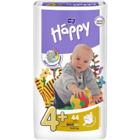 Bella Happy 4+ Maxi Plus 9-20 kg diaper panties 44 pieces