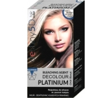 Professional Hair Care Destiny 5D Decolour Platinium white platinum highlighter for hair 40 g + 80 ml