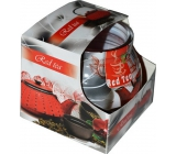 Admit Red Tea decorative aromatic candle in glass 80 g