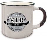 Nekupto Retro mug with the inscription Pro VIP 250 ml
