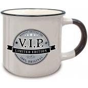 Nekupto Retro mug with the inscription Pro VIP 250 ml
