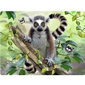 Prime3D postcard - Lemur 16 x 12 cm