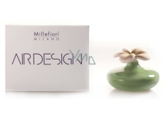 Millefiori .Air Design Diffuser flower small green