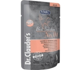 Dr. Clauders Best Selection No. 4 Chicken, salmon and quinoa complete food with pieces of meat for cats pocket 85 g
