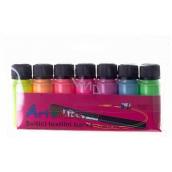 Art E Miss Set of shining textile colors 7x12g 3134