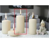Lima Ice pastel candle creme cylinder 60 x 120 mm 1 piece