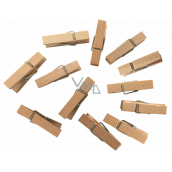 Wooden pegs 3.5 cm, 12 pieces