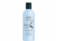 Ziaja Jeju Black shower soap with anti-inflammatory and antibacterial effects 300 ml