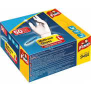 Fino Disposable powdered gloves size L 50 pieces