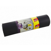 Fino Construction Bags garbage bags black, 70 µ, 300 liters, 135 x 146 cm, 6 pieces