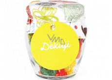 Albi Candies in glass Thank you 120 g