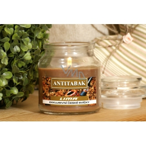 Lima Aroma Dreams Antitabac aromatic candle glass with lid 120 g